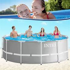 intex 366x122 schwimmbecken swimming pool schwimmbad frame
