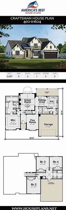 2 story craftsman house plans get to know plan 402 01624 a 2 story craftsman house plan