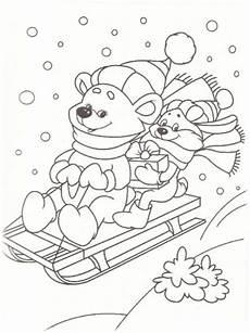 ausmalbilder kostenlos winter vorlagen zum ausmalen