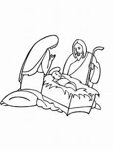 ausmalbilder weihnachten krippe ausmalbilder