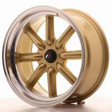 japan racing wheels jr 19 gold 17x8 zoll japan