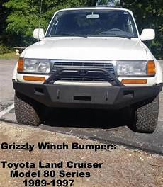 books about how cars work 1997 toyota land cruiser on board diagnostic system 1989 97 toyota land cruiser 80 series custom front winch plate bumper grizzly s custom truck
