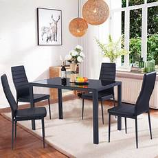 east west furniture shelton 5 piece shaker dining table