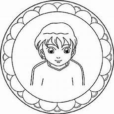 gratis mandalas zum thema menschen und gesichter