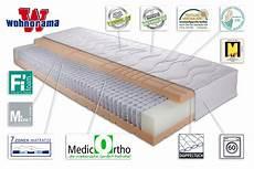 wohndesign orthop 228 dische matratze matratzen im test 90x200