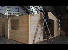 Blockhaus Bauen Anleitung - how to build a log cabin assembly