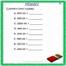 money rupees worksheets 2309 maths money worksheet 3 grade 3 estudynotes