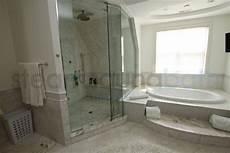 Dusche Und Badewanne Nebeneinander - side by side steam shower and bathtub photo gallery and