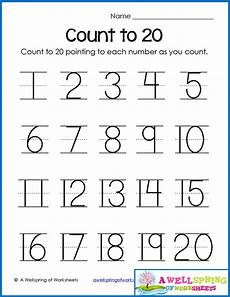 counting numbers to 20 worksheets 8045 trace numbers 1 20 write and fill in the numbers worksheets decimals worksheets