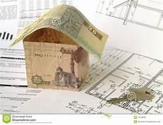 financing of housebuilding stock photo image of finance
