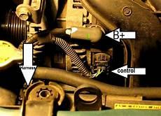 the original mechanic how to replace the alternator in a 1 8l toyota corolla yaris matrix