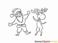 Ausmalbilder Weihnachten Elch Santa Und Elch Ausmalbild Zum Ausmalen