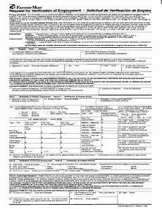 fillable online verification of employment form 1005 verification of employment fax email