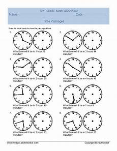 printable worksheets on time for grade 4 3763 time passages 4
