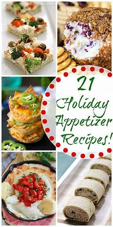 21 holiday appetizer recipes giveaway s eats treats