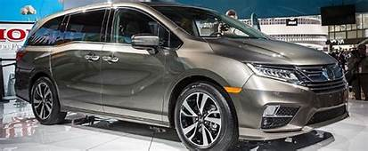 2020 Honda Odyssey Minivan With Hybrid Engine  2017