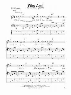 who am i sheet music direct