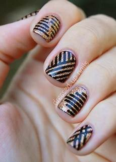 beautiful elegant 30 striping tape nail art designs 2017