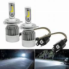 aluminium white h4 c6 led headlight bulb rs 699 pair sr