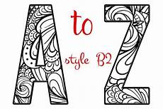 coloring letters of the alphabet b2 custom designed