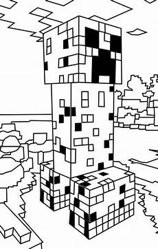 n 19 coloring pages of minecraft