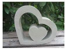 Beton Giessform Herz Mit Herz 30 X 35 5 Cm Beton