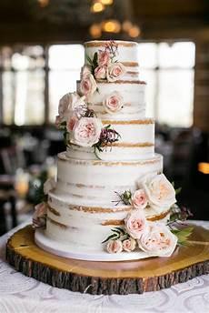 zach s cabin winter weddding wedding cake rustic
