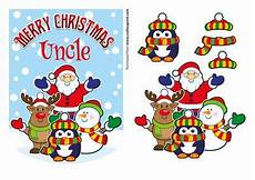 merry christmas uncle santa friends cup584081 971 craftsuprint