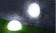 le solaire boule jardin demi boules solaires lot de 2 pratik light le de