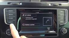 vw golf 7 radio composition media discover media alle