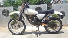 Revo Modif Trail by Modifikasi Honda Tiger Revo Menjadi Trail Jadul Vintage