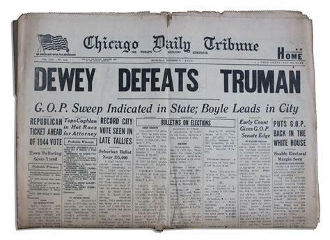Dewey Wins 1948