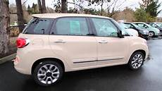 2014 Fiat 500l Lounge Mocha Latte Ez015835 Redmond