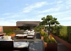 Dachterrasse Gestalten 37 Ideen F 252 R Pflanzen Und