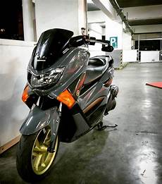 Modifikasi Nmax Abu Abu 2018 by Gambar Modifikasi Yamaha Nmax Simple Gudang Otommotif1