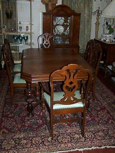 alter esstisch holz antique mount airy wood dining room table with 6