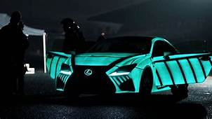 LEXUS Develops Car That Displays Driver's Heartbeat While
