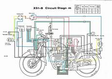 1980 yamaha xs650 ignition wiring diagram
