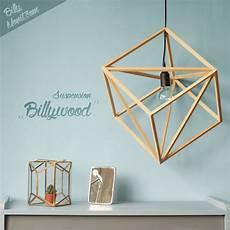 billywood suspension en bois luminaires par billy