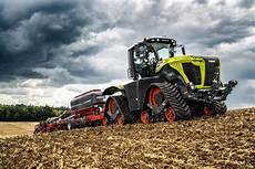 agritechnica 2019 claas xerion na gąsienicach