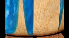 epoxy resin rotbuche schale bowl wie es nicht machen