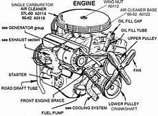 Engine Diagram View Chicago Corvette Supply