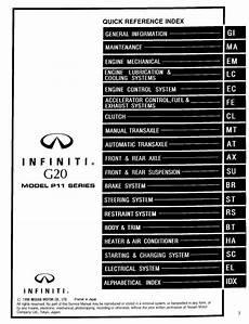 small engine repair manuals free download 1999 infiniti i instrument cluster infiniti g20 model p11 series 1999 service manual clutch pdf online download