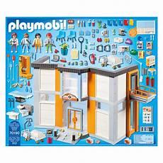 Playmobil Ausmalbild Krankenhaus Playmobil City Lfie Grosses Krankenhaus Mit Einrichtung