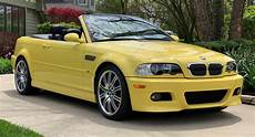 put some yellow in your life with this e46 bmw m3 convertible carscoops