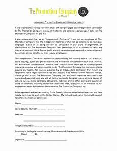contractor liability release form templates at