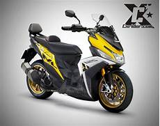 Modifikasi Motor Mio M3 by Konsep Modifikasi Yamaha Mio M3 Touring Cxrider