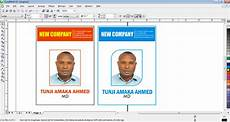 id card template for coreldraw how to design id card in coreldraw free tutorials for