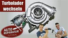 turbolader wechseln turbo erneuern bmw diy tutorial