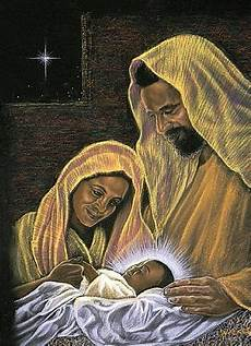 baby jesus mother mary and joseph with images black nativity black art pictures art